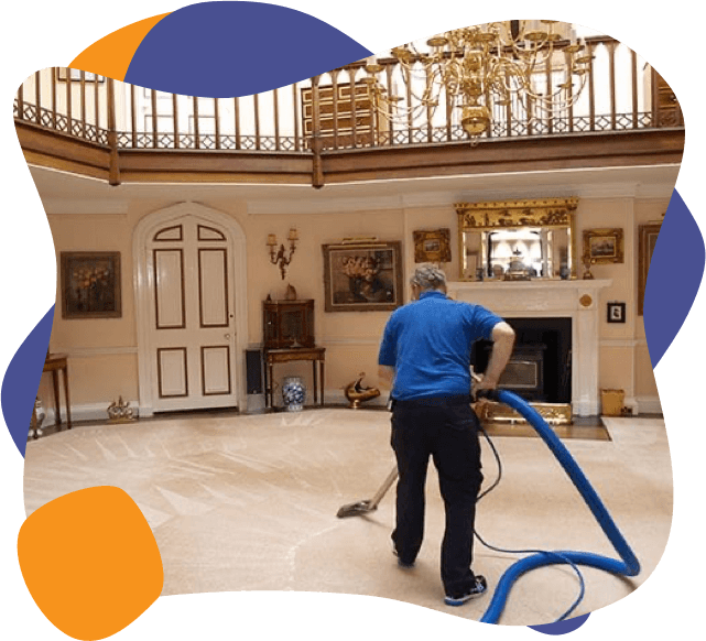 Enviropure home cleaning specialists clean a large Ottawa home