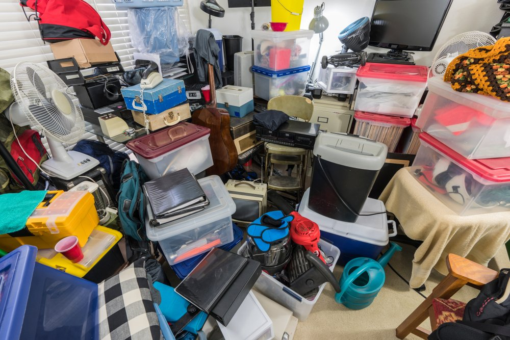 house of person with hoarding disorder