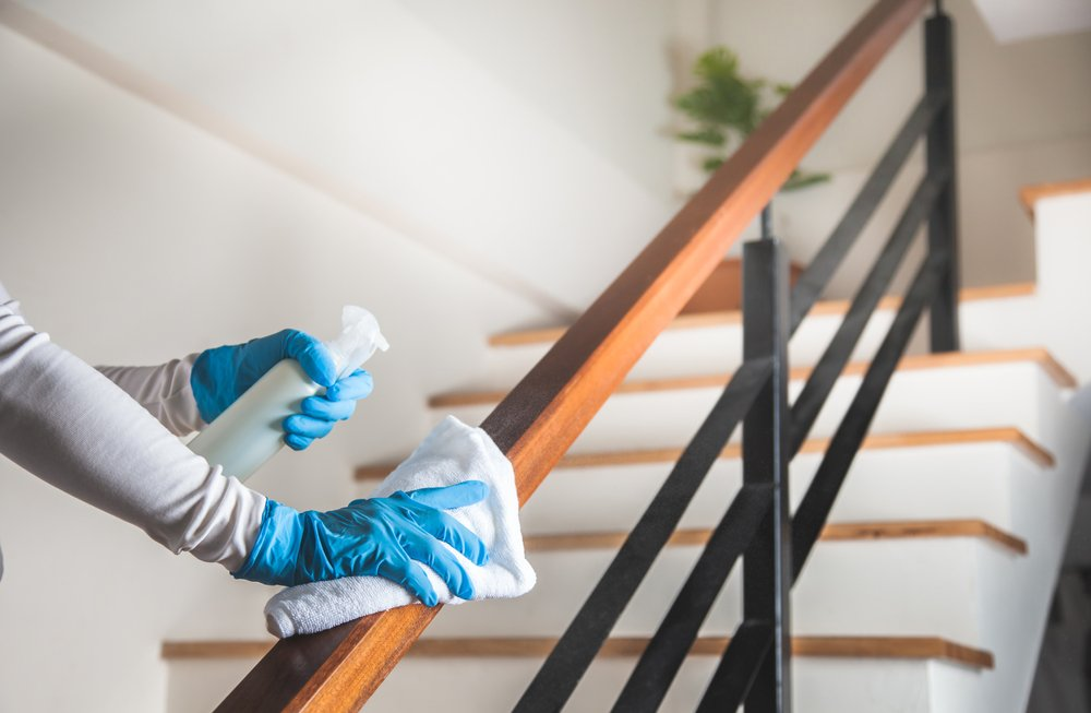 deep cleaning in home
