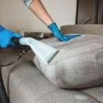 couch deep cleaning with specialty vaccum